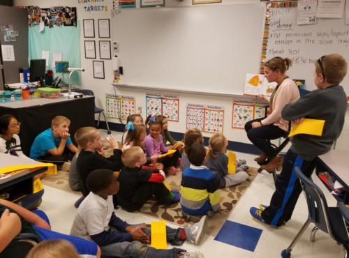 """Kids Go """"Wild About Reading"""" At Literacy Night"""